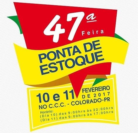 FEIRA PONTA DE ESTOQUE